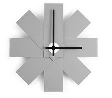 Normann Cph / Watch Me Wall Clock Grey