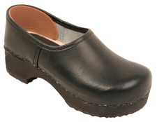 Danish Clogs - Euro-Dan, Kids, Closed heel, Black