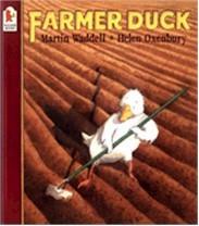 Farmer Duck (Bulgarian-English)