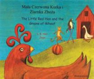 The Little Red Hen and The Grains of Wheat (Hungarian-English)