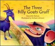 The Three Billy Goats Gruff (Lithuanian-English)