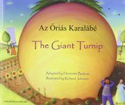 The Giant Turnip (Hungarian-English)