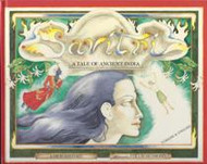 Savitri: A Tale of Ancient India (Turkish-English)