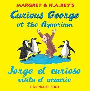 Curious George at the Aquarium (Spanish-English)