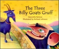 The Three Billy Goats Gruff (Hebrew-English)