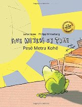 Five Meters of Time (Albanian-English)