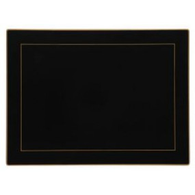 Lady Clare Continental Placemats Black Screened