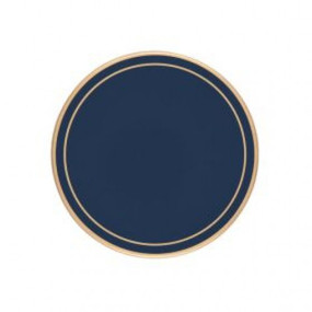 Lady Clare Round Coasters Oxford Blue Screened