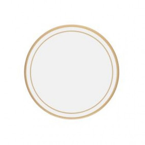 Lady Clare Round Coasters White Screened