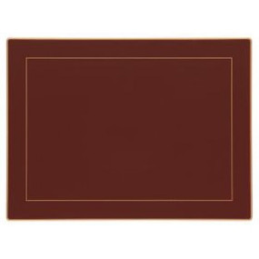 Lady Clare Continental Placemats Regal Red Screened