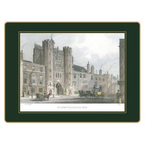Lady Clare Continental Placemats Shepherd's London - Green