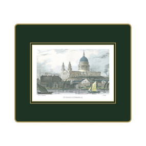 Lady Clare Tablemats Shepherd's London - Green