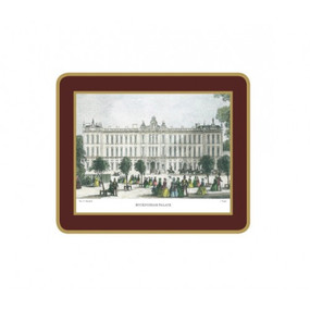 Lady Clare Coasters Shepherd's London - Red