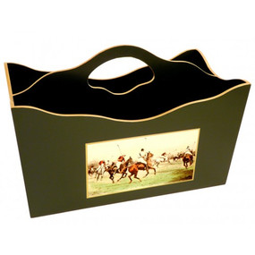 Lady Clare Magazine Rack Modern Polo