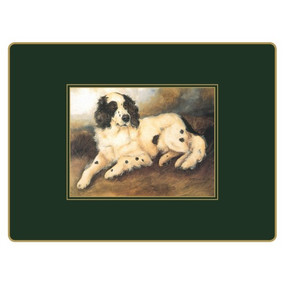Lady Clare Continental Placemats Sporting Dogs