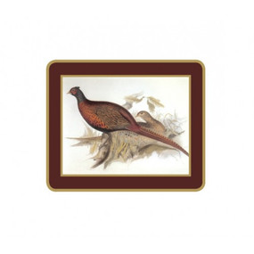 Lady Clare Coasters Gould Game Birds
