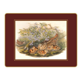 Lady Clare Placemats Gould Game Birds