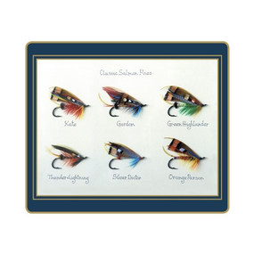 Lady Clare Tablemats Classic Salmon Flies