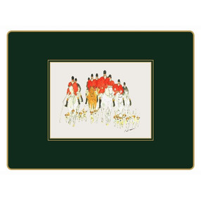 Lady Clare Continental Placemats Hunting
