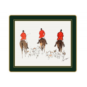 Lady Clare Tablemats Hunting