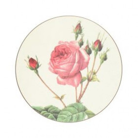Round Tablemats Redoute Roses