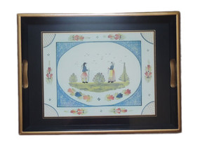 Lady Clare Tray Mistral Blue