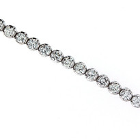 6.60ct GVS1 Diamond Tennis Bracelet