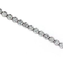 6.60ct GVS1 Diamond Tennis Bracelet