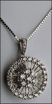 1.50ct White Gold Diamond Pendant