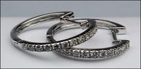 18kt Diamond Huggie Earrings