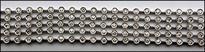 Diamond Tennis Bracelet, 3.76ct Diamond, 18kt White Gold