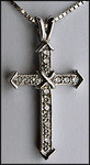 .21ct Diamond Cross Pendant