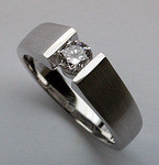 .35ct G Color, VS1 Clarity Diamond Solitaire Ring