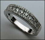 .40ct Diamond Band with 43 F Color Round Diamonds