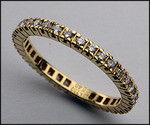 .52ct, G-VS2, Diamond Eternity Band