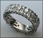 18kt White Gold Diamond Eternity Ring