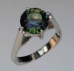 14kt Gold Mystic Topaz Ring EGR527
