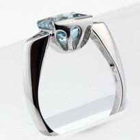 2.05ct Aquamarine Ladies Ring