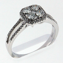 .86ct Diamond cocktail ring