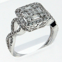 .80ct Diamond cocktail ring