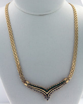 1.04ct Diamond Necklace 14k Yellow Gold