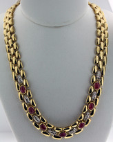 .42ct Diamond Necklace 14k Yellow Gold