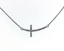 .22ct Diamond Cross pendant