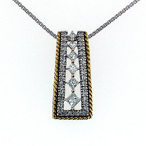 .62ct Diamond Pendant in 14kt Gold