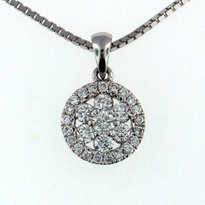 .56ct  Diamond Pendant in 14kt Gold
