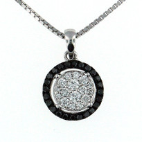 .52ct Diamond  Pendant in 18kt Gold