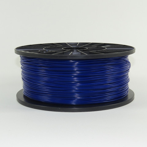 PLA filament, 1.75mm, dark blue color
