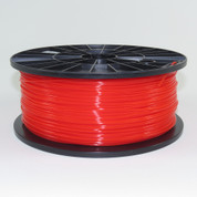 PLA filament, 1.75mm, translucent red color
