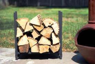 Woodhaven Log, Firewood Rack  2'x 2' x 10""
