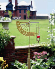 Conant Custom Brass Jeffersonian Rain Gauge